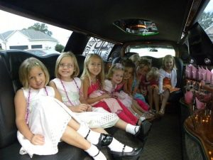 kid's limo hire manchester