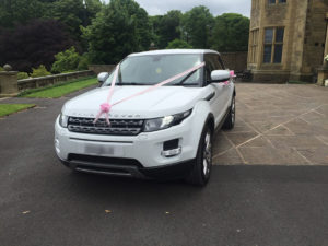 Range Rover Wedding Car Hire blackburn