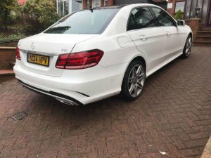 wedding car hire blackburn