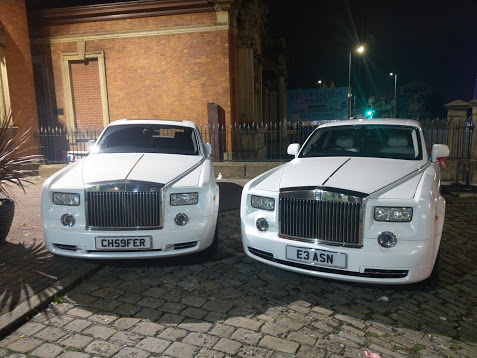 Rolls Royce Phantom Wedding Hire Manchester